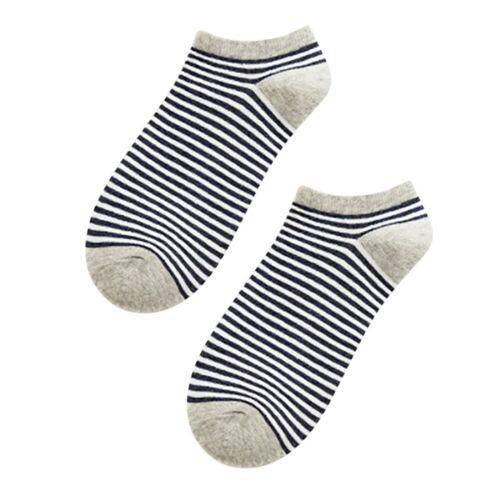 Herrensocken Lässige Arbeit Business Cotton Striped Series Fashion Socke Komfort