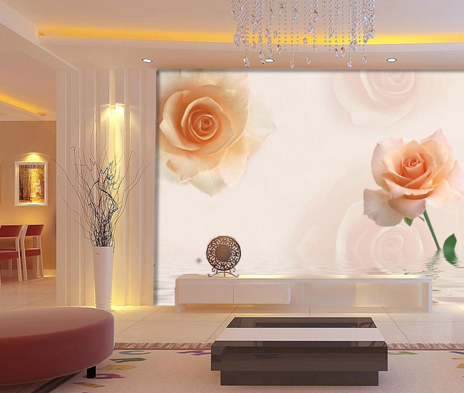 3D Orangenblüten 503 Tapete Tapeten Mauer Foto Familie Tapete Wandgemälde DE