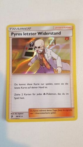 Majestät der Drachen Pyros Letzter Widerstand 58//70 Deutsch NM Holo