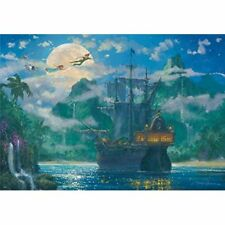 Tenyo Disney Moon Rise Over Pirates Cove Jigsaw Puzzle 1000pcs