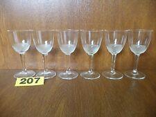 Moser Crystal - ROYAL Cut (No Trim) - 6 x Liqueur / Shot or Sherry Glasses