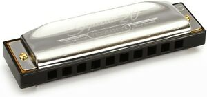 HOHNER PROGRESSIVE SPECIAL 20 BAND HARMONICA DIATONIC KEY OF C MADE IN GERMANY