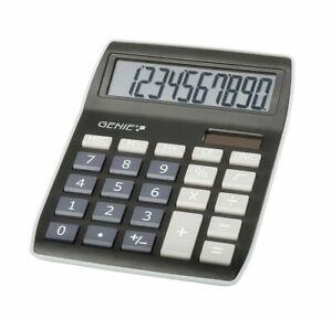 GENIE-840BK-Solar-Calculadora-de-Escritorio-Computadora-Bolsillo