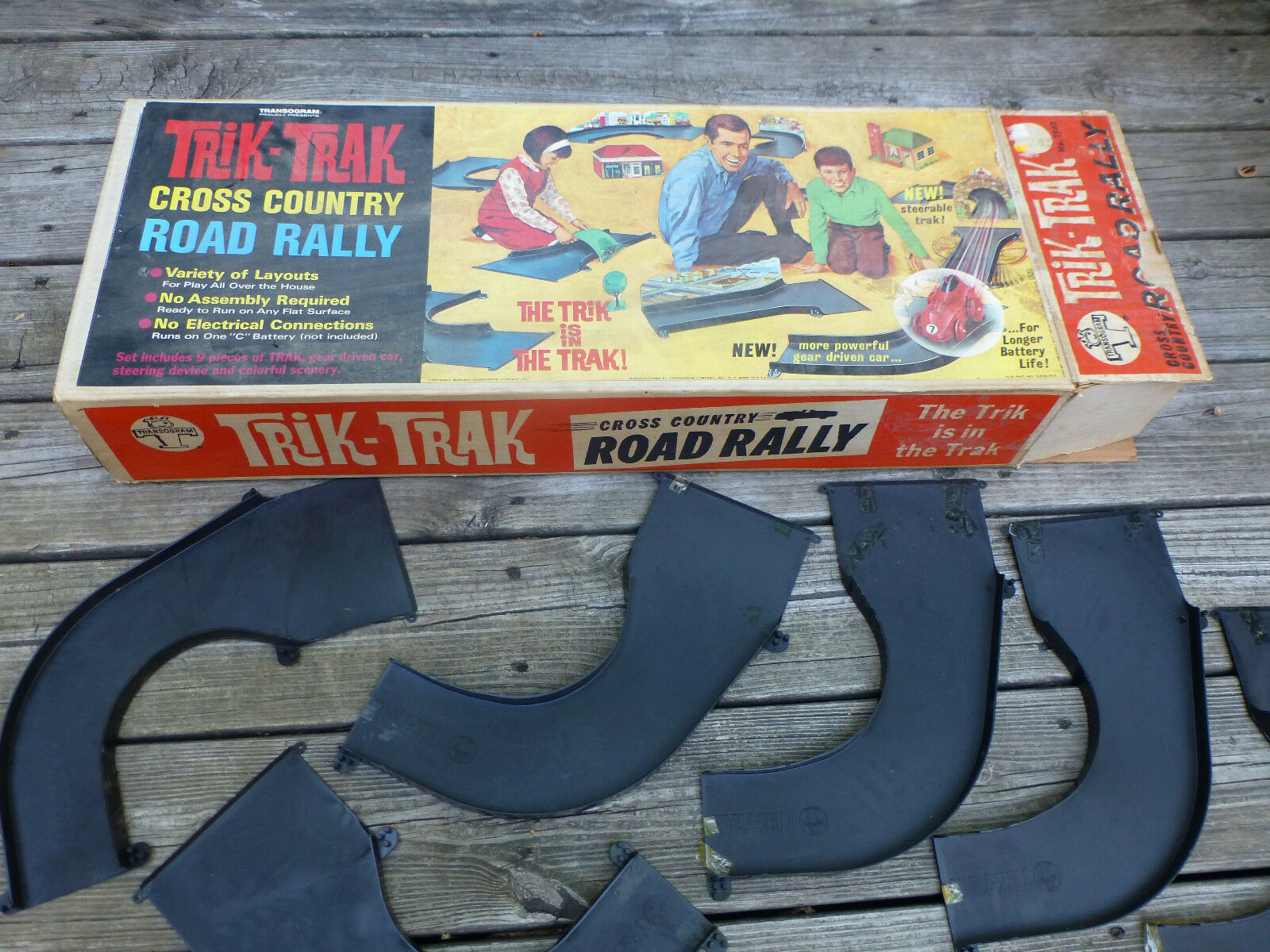 Trik-Trak Cross Country Road Rally Transgram   PARTs Maybe Incomplete