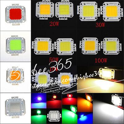 Super Bright LED SMD Lamp Chip 10W 20W 30W 50W 100W  High Power For Floodlight