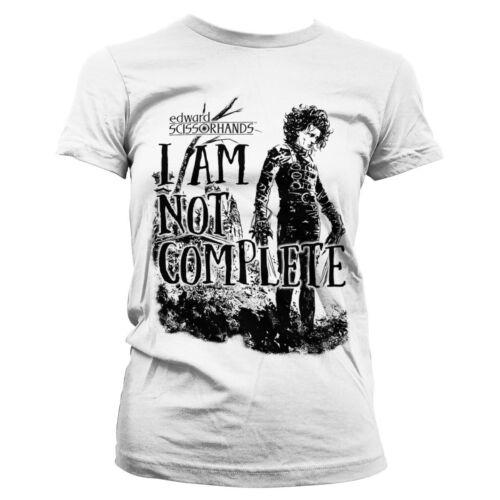 I Am Not Complete Women/'s T-Shirt S-XXL Officially Licensed Edward Scissorhands