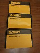 """Concrete Screw Anchor 1//2/"""" x 3/"""" DeWalt Powers PFM1411380 Screw Bolt Qty 10"""