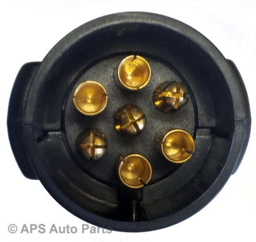 7 Pin Towing Trailer Horsebox Caravan Light Tester Check Plug Socket 12v Wiring