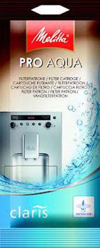 10 x CAFFEO WATER FILTER CARTRIDGE PRO AQUA CLARIS MELITTA COFFEE   6546281x10