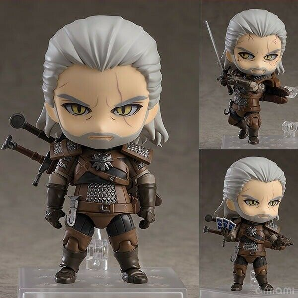 NendGoldid Geralt 907 - The Witcher 3 - Originale Good Smile Complay