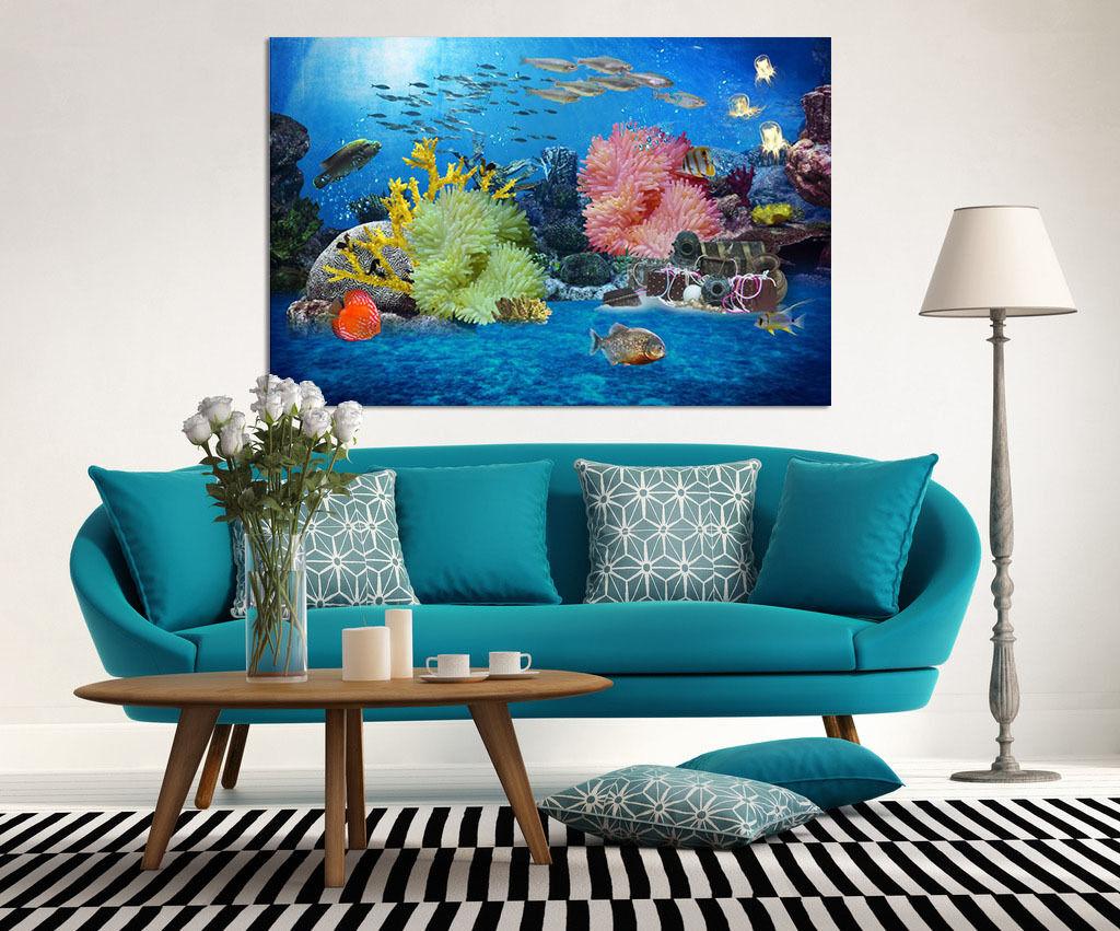 3D Marine algen 43 Fototapeten Wandbild BildTapete AJSTORE DE Lemon