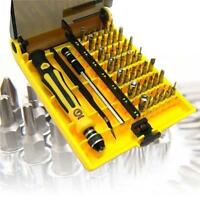 45 in 1 Torx Precision Screwdriver Set For Cell Phone Laptop Repair Tool Kit RD