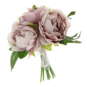 Immagini Di Bouquet Da Sposa.Fiori Di Seta Peonia Artificiale Per Bouquet Da Sposa Tavolo Da