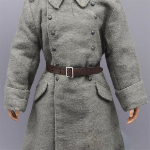"""1//6 Scale Solider Figure Accessories Leather Belt Model For 12/""""  Action Figure"""