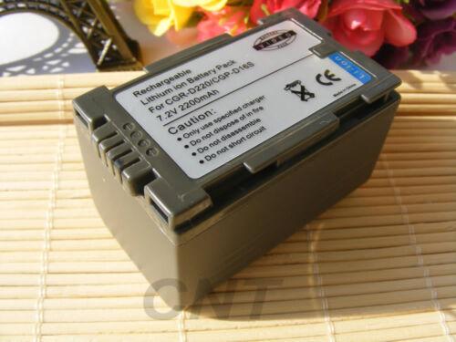 Batería para Panasonic CGR-D220//CGA-D54S D54SE//CGP-D14S//CGP-D210 2200mAh