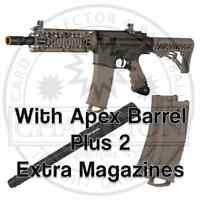 Tippmann Tmc Marker Package With Apex2 Barrel + 2 Extra Magazines Combo Pack