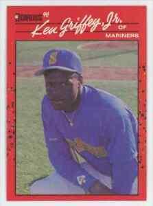 1990 Donruss Error Ken Griffey JR. Rookie Seattle Mariners #365 No Period Inc