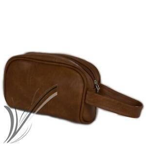 Pochette uomo da polso marrone borsetta borsello a mano borsa piccola moda 2021