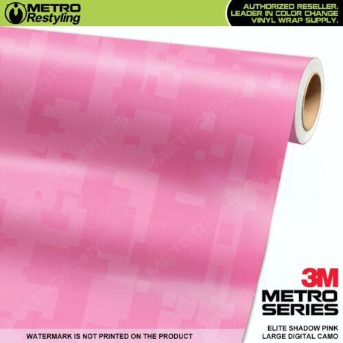 LARGE DIGITAL ELITE SHADOW PINK Camouflage Vinyl Car Wrap Film Sheet Adhesive