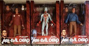 Neca Ash Vs Evil Dead, Série 1 Complete, Value Stop Hero Ash et Eligos