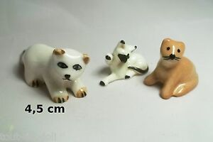 Lot De Chats Miniature En Porcelaine,collection,décoration,animal, Cat,kat *a17 Cu7p07eo-08001453-281631468