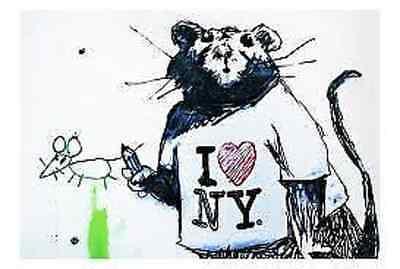 Banksy doughnut police guard iron on t shirt transfer or sticker  trolley