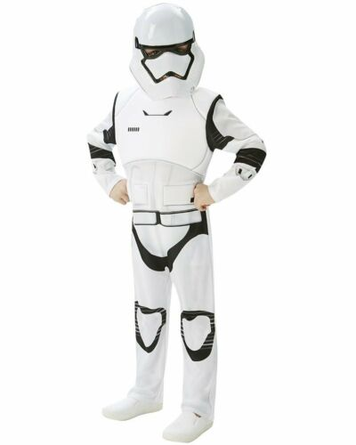 CK588 Deluxe Star Wars Episode 7 Stormtrooper Boys Storm Trooper Tween Costume