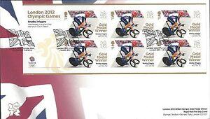 GB-2012-FDC-ganadores-de-medalla-de-oro-olimpico-primer-dia-cubre-varios-anuncios