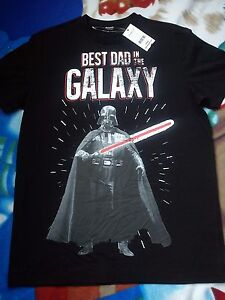 Star Wars Science Fiction T-Shirt Yoda Talk To The Hand Spoof Tee Top