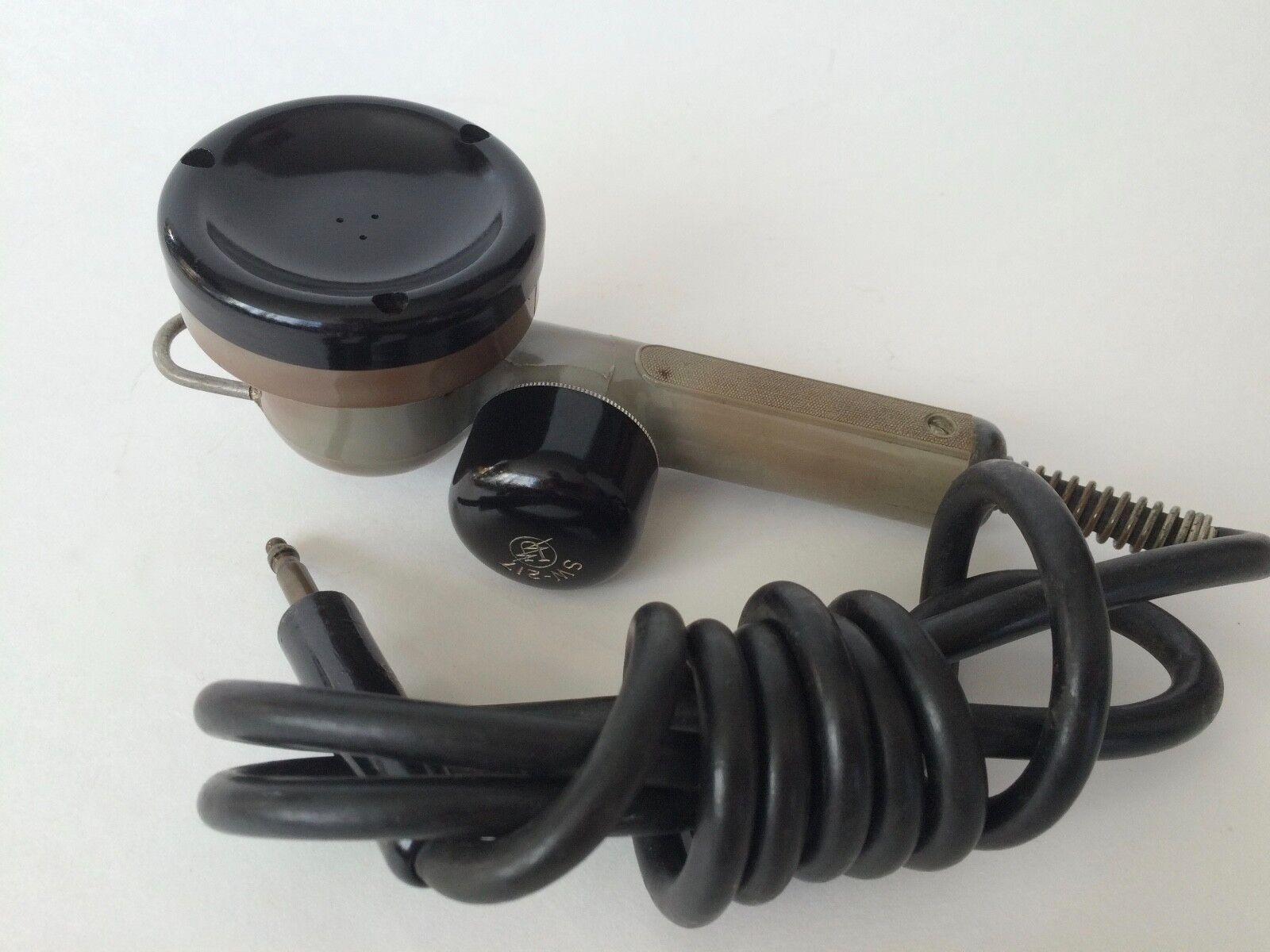 Signal Corps Military Era Vintage Microphone RCA EV Altec WE Movie Prop
