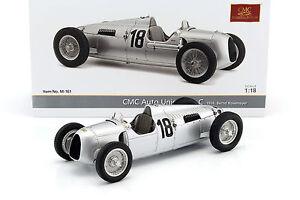 Cmc Cmc161 - Union Auto Type C N ° 18 Parcours Rosemeyer Eiffel 1936 1/18