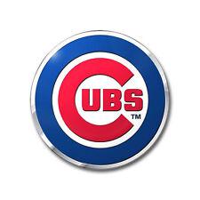 Chicago Cubs Die Cut Color Auto Emblem