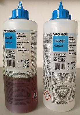 Heimwerker Gießharz Reparaturharz Wakol Ps 205 Rissharz 600 Ml 2 K Incl Baustoffe & Holz 20 Wellenverbinder Hoher Standard In QualitäT Und Hygiene