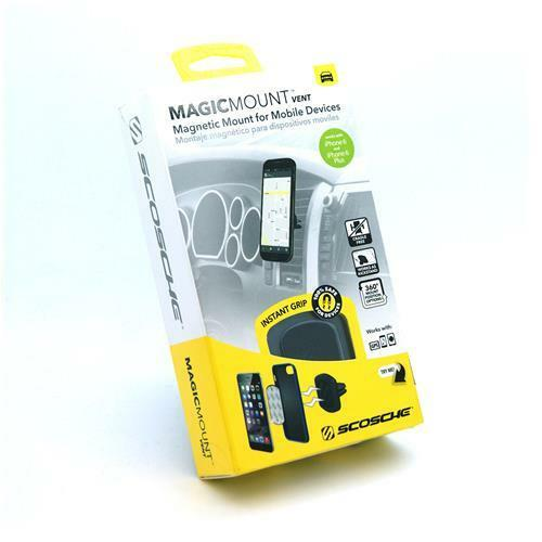 Scosche MagicMount Vent Magnetic Mount for Mobile Devices iPhone X 8 7 S8 Car