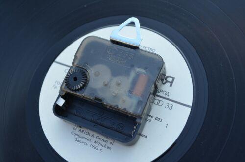 Vinyl Clock Johann Sebastian Bach Original Vinyl Clock Home Decor Handmade 4588