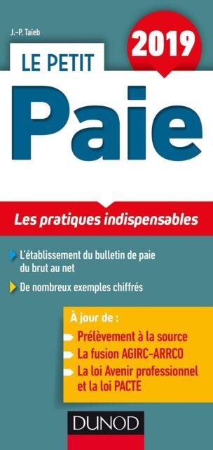 Le Petit Paie 2019 : Les pratiques indispensables — Jean-Pierre Taïeb