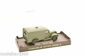 SOLIDO-EDITION-LIMITEE-OVERLORD-89-DODGE-SIGNALS-CORPS