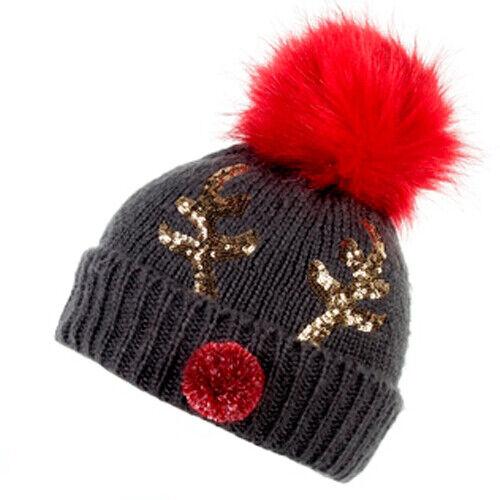 Reindeer One Size Joules Liza Womens Headwear Head Band