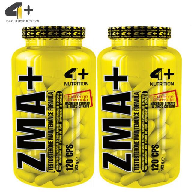 ZMA 120/240 Capsules Testosterone Booster Anabolic Mineral Magnesium Vitamin B6 eBay