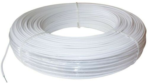 1320 ft 12.5 Gauge Heavy Duty White Coated High Tensile Safety Horse Fence Wire