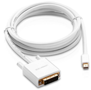 Ugreen-10405-2M-Mini-DisplayPort-to-DVI-24-1-Male-Adapter-Audio-Video-Cable
