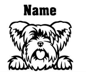 Yorkshire-Terrier-Peeking-with-Name-car-window-decal