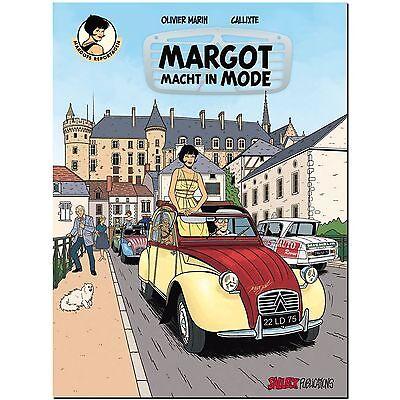 Margots Reportagen 3 macht in Mode Oliver Marin COMIC THRILLER DETEKTIV 60er