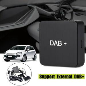 DAB 004 DAB + Box FM Radio Antenna Tuner Trasmissione Ricevitore via USB Android