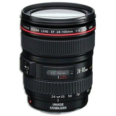 Canon EF 24-105mm f/4L IS USM Lens for Canon EOS SLR/DSLR Cameras. 0344B002. NEW