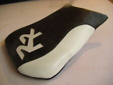 HONDA 2005/2006 CBR600RR  CUSTOM FRONT SEAT COVER BLACK/WHITE