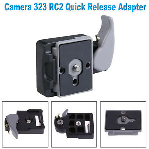 Camera-323-RC2-System-Quick-Release-Adapter-for-Manfrotto-Tripod-200PL-14-Plates
