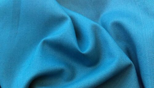 Cotton Twill Fabric New by Dcf Airforce Blue Shade 100cm Wide