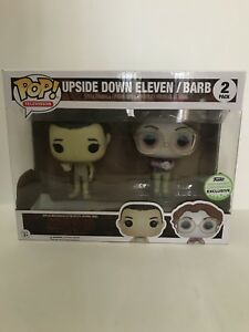 Funko Eccc 2017 Exclusive Stranger Things Upside Down Eleven Barb 2 Pack Pop L