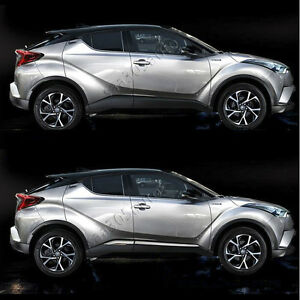 SUS304-Stainless-Steel-Door-Side-Body-Garnish-Cover-Trims-for-Toyota-C-HR-2017